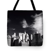 Mystical Manhattan Morning Tote Bag
