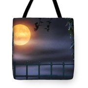 Mystical Moon Tote Bag by Kenny Francis