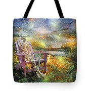 Mystical Sam On Topsail Tote Bag by Betsy C Knapp