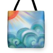 Mystical Sea Squared Tote Bag