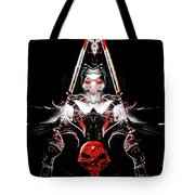 Mythology And Skulls Tote Bag