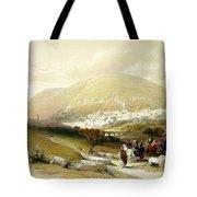 Nablus Old Shechem Tote Bag