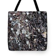 Nail It To The Power Pole Tote Bag