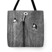 Nailed It - Bw Tote Bag