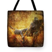 Nailed To The Cross Via Dolorosa 11 Tote Bag by Lianne Schneider