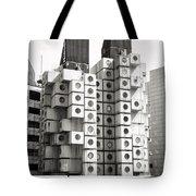 Nakagin Capsule Tower In Tokyo Tote Bag