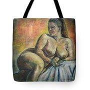 Naked Paris Tote Bag
