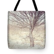 Naked Willow Tree. Winter Poems Tote Bag