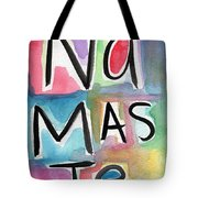Namaste Watercolor Tote Bag