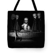 Nameless Faces Tote Bag