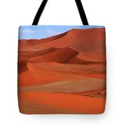 Namibian Red Sand Dunes  Tote Bag