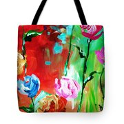 Nancy's Flowers Tote Bag