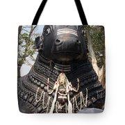 Nandi Statue Tote Bag