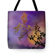 Nandina The Beautiful Tote Bag by Bedros Awak