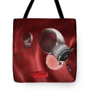 Nanotechnology, Illustration Tote Bag