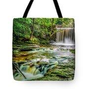 Nant Mill Waterfall Tote Bag