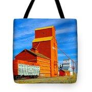 Nanton Grain Elevators  Tote Bag