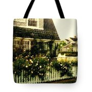 Nantucket Cottage Tote Bag