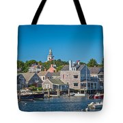 Nantucket Town Tote Bag