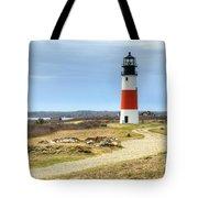 Nantucket's Sankaty Head Light Tote Bag