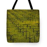 Napa Mustard Grass Tote Bag by Garry Gay