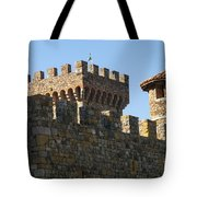 Napa Valley Castle Winery Tote Bag