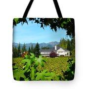 Napa Valley Duckhorn Winery Tote Bag by Jeff Lowe