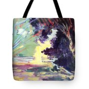 Napa Valley Forest Fall Tote Bag