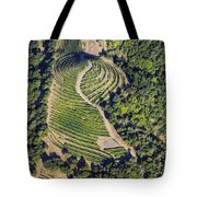 Napa Valley From Above Tote Bag