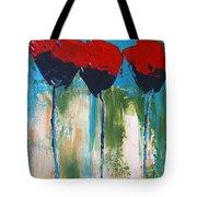 Napa Valley Red Poppys Tote Bag