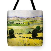 Napa Yellow2 Tote Bag