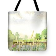 Napanee River West Tote Bag