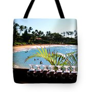 Napili Bay Maui Hawaii Tote Bag