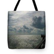 Naples Pier Tote Bag