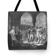 Napoleon At Jaffa, 1799 Tote Bag