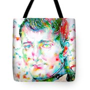 Napoleon Bonaparte - Watercolor Portrait Tote Bag