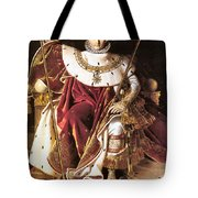 Napoleon I On His Imperial Throne Tote Bag