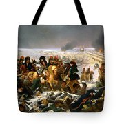 Napoleon On The Battlefield Of Eylau Tote Bag