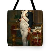 Emperor Napoleon In His Study At The Tuileries Tote Bag