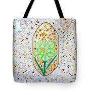 Narcissus Flower Petals Tote Bag