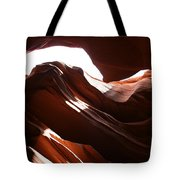 Narrow Canyon X Tote Bag