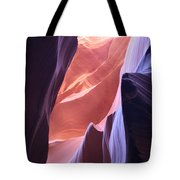 Narrow Canyon Xvi - Antelope Canyon Tote Bag