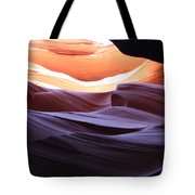 Narrow Canyon Xviii Tote Bag
