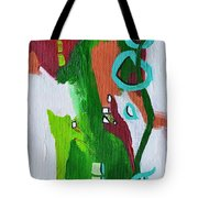 Narrow Escape Tote Bag