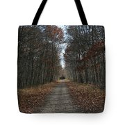 Narrow Path On Recovery Road Tote Bag