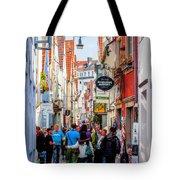 Narrow Street Art Tote Bag