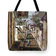 Narrow Street Tote Bag
