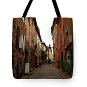 Narrow Street In Provence Tote Bag
