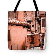 Narrow Streets Of Albarracin  Tote Bag