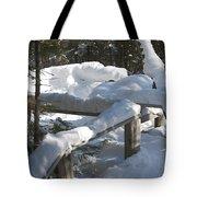 Narrow Trail Tote Bag